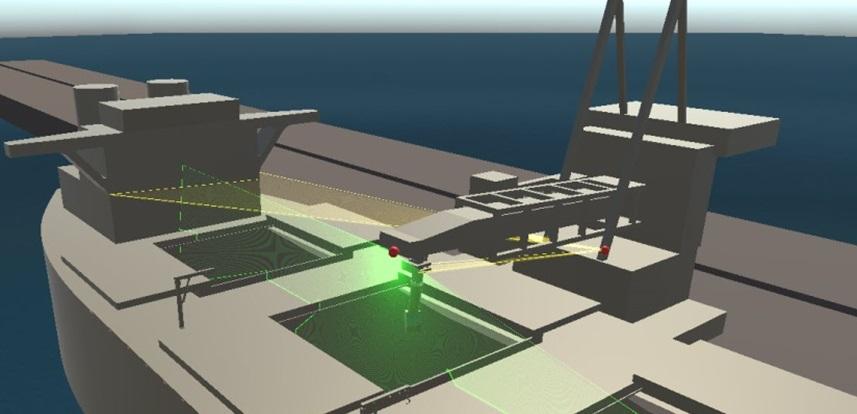Automated Ship Loading
